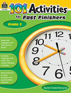 101 Activities For Fast Finishers (Grade 3) [Enhanced eBook]
