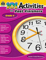 101 Activities For Fast Finishers (Grades 4) [Enhanced eBook]