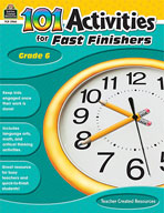 101 Activities For Fast Finishers (Grades 6) [Enhanced eBook]
