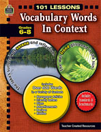 101 Lessons: Vocabulary Words in Context (Enhanced eBook)
