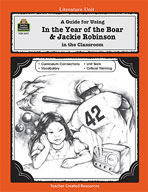 A Guide for Using In the Year of the Boar and Jackie Robinson in the Classroom (Enhanced eBook)