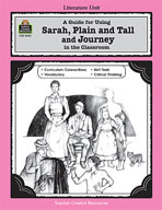 A Guide for Using Sarah, Plain and Tall and Journey in the Classroom (Enhanced eBook)