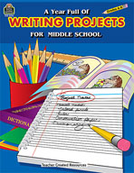 A Year Full of Writing Projects for Middle School (Enhanced eBook)