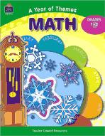 A Year of Themes: Math (Enhanced eBook)