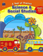 A Year of Themes: Science and Social Studies (Enhanced eBook)