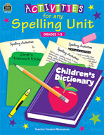 Activities for Any Spelling Unit