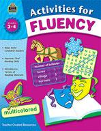 Activities for Fluency, Grades 3-4