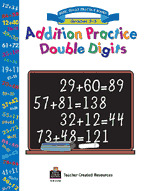 Addition Practice Double Digits