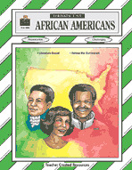 African Americans Thematic Unit