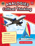 Analogies for Critical Thinking (Grades 1-2)