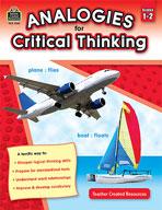 Analogies for Critical Thinking (Grades 1-2) (Enhanced eBook)
