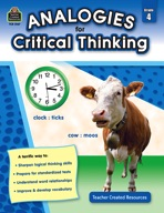 Analogies for Critical Thinking (Grades 4)
