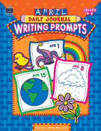 April Daily Journal Writing Prompts