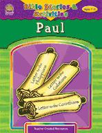 Bible Stories and Activities: Paul (Enhanced eBook)
