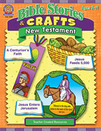 Bible Stories and Crafts: New Testament (Enhanced eBook)