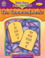 Bible Story Activities: Ten Commandments (Enhanced eBook)