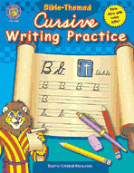 Bible-Themed Cursive Writing Practice