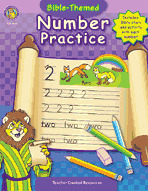 Bible-Themed Number Practice (Enhanced eBook)