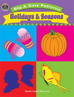 Big and Easy Patterns: Holidays and Seasons (Enhanced eBook)