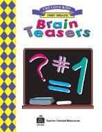 Brain Teasers, Grade 1 Workbook