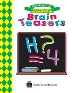 Brain Teasers, Grade 4 Workbook