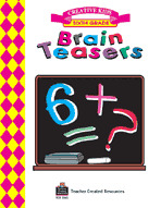 Brain Teasers, Grade 6 Workbook