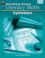 Building Basic Literacy Skills: Syllables (Enhanced eBook)