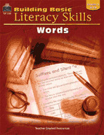 Building Basic Literacy Skills: Words