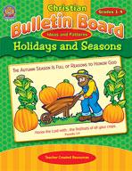 Christian Bulletin Board Ideas and Patterns: Holidays and Seasons (Enhanced eBook)