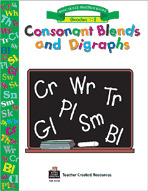 Consonant Blends & Digraphs Workbook