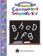 Consonant Sounds B-J Workbook