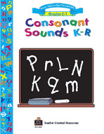 Consonant Sounds K-R Workbook