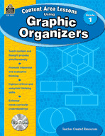 Content Area Lessons Using Graphic Organizers: Grade 1 (Enhanced eBook)
