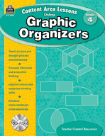 Content Area Lessons Using Graphic Organizers: Grade 4 (Enhanced eBook)