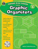 Content Area Lessons Using Graphic Organizers: Grade 5 (Enhanced eBook)