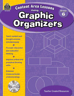 Content Area Lessons Using Graphic Organizers: Grade 6 (Enhanced eBook)