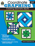 Coordinate Graphing: Creating Geometry Quilts Grade 4 and Up (Enhanced eBook)