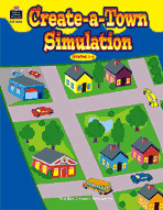 Create-a-Town Simulation (Enhanced eBook)