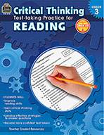 Critical Thinking: Test-taking Practice for Reading Grade 3 (Enhanced eBook)