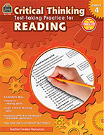 Critical Thinking: Test-taking Practice for Reading Grade 4 (Enhanced eBook)