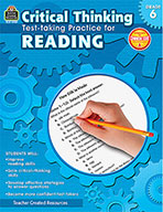 Critical Thinking: Test-taking Practice for Reading Grade 6 (Enhanced eBook)