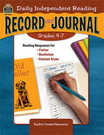 Daily Independent Reading Record and Journal (Enhanced eBook)