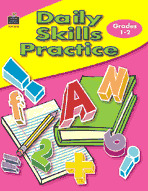 Daily Skills Practice: Grades 1-2 (Enhanced eBook)