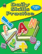 Daily Skills Practice: Grades 4-5 (Enhanced eBook)