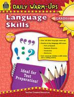 Daily Warm-Ups: Language Skills: Grade 1 (Enhanced eBook)