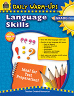 Daily Warm-Ups: Language Skills: Grade 2 (Enhanced eBook)