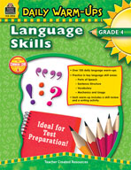 Daily Warm-Ups: Language Skills: Grade 4 (Enhanced eBook)