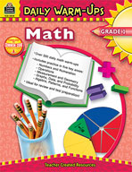 Daily Warm-Ups: Math: Grade 1 (Enhanced eBook)