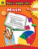 Daily Warm-Ups: Math: Grade 3 (Enhanced eBook)