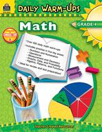 Daily Warm-Ups: Math: Grade 4 (Enhanced eBook)